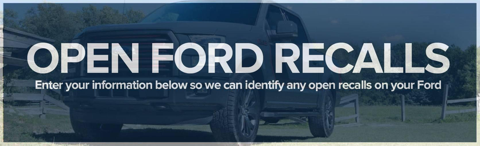 Open Ford Recalls
