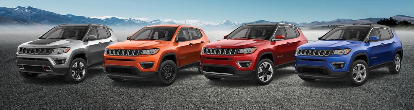Royal Gate Dodge >> 2019 Jeep Compass Sport vs Latitude vs Altitude vs Limited vs Trailhawk