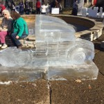 Butler Carved In Ice