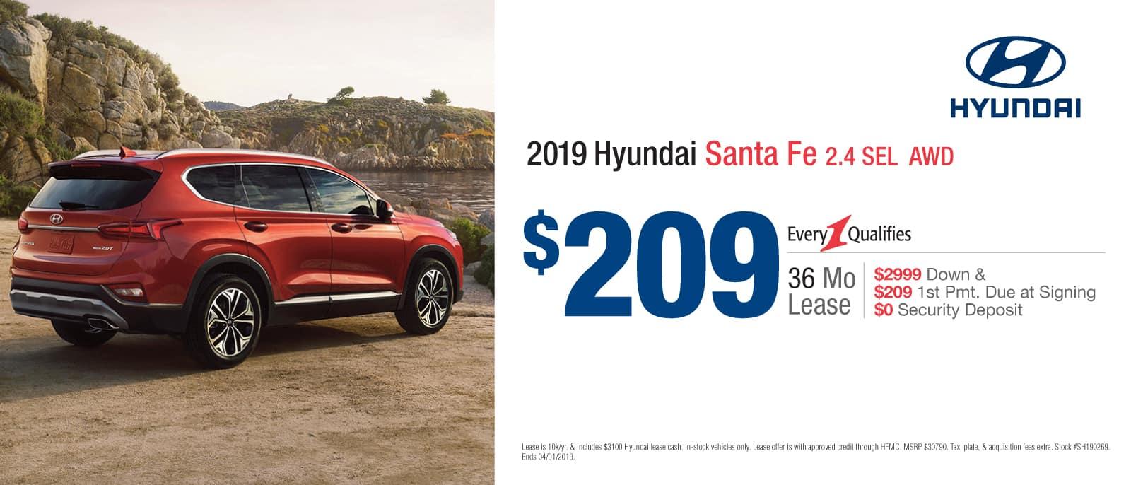 2019 Santa Fe Sport