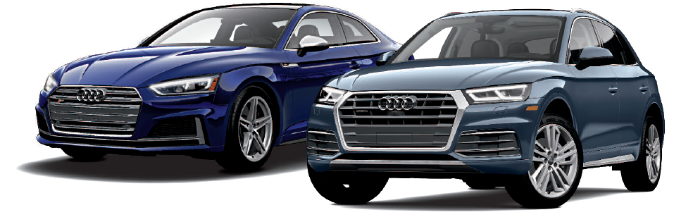audi two cars