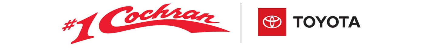 #1 Cochran & Toyota Logos