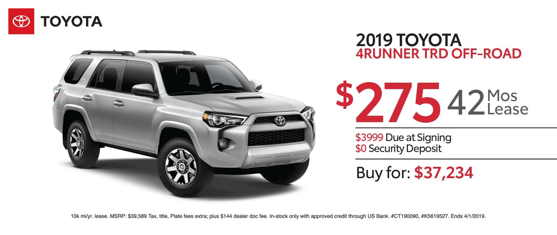2019 Toyota