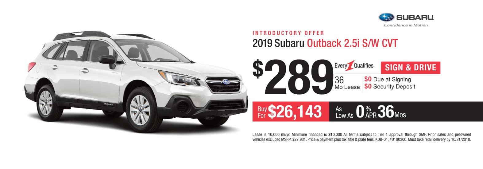 New Car Specials At Cochran Subaru of Butler County Near ...