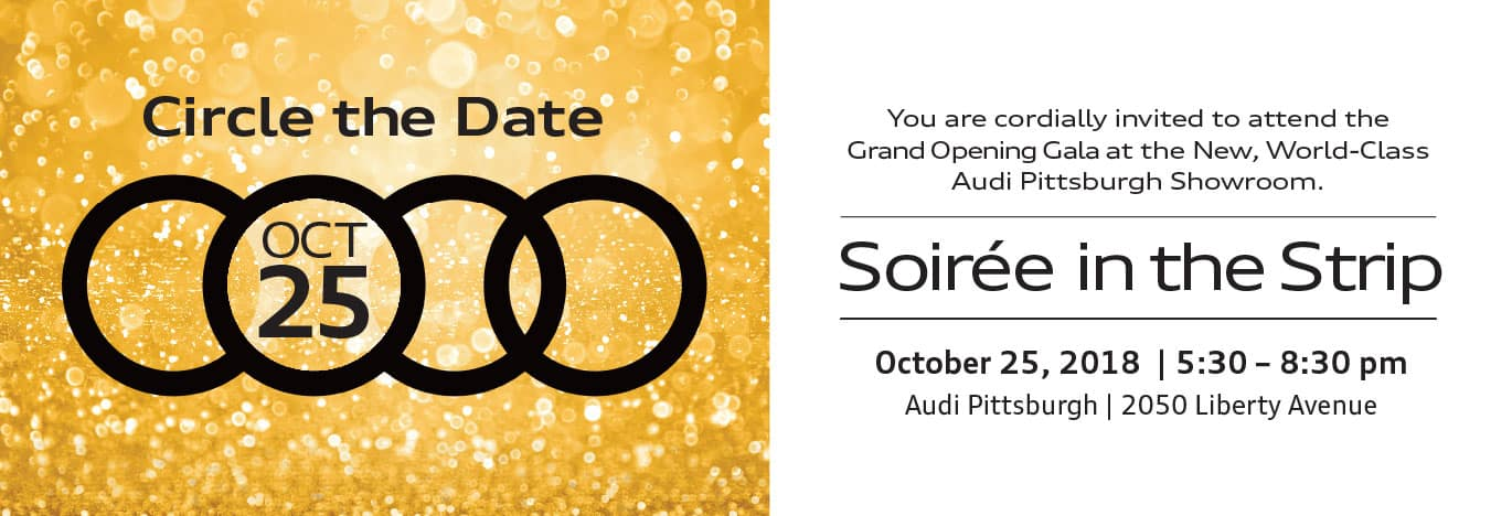 Audi Grand Opening, Soiree in the Strip