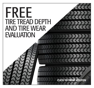 Tire Match Special Offer - Subaru Monroeville