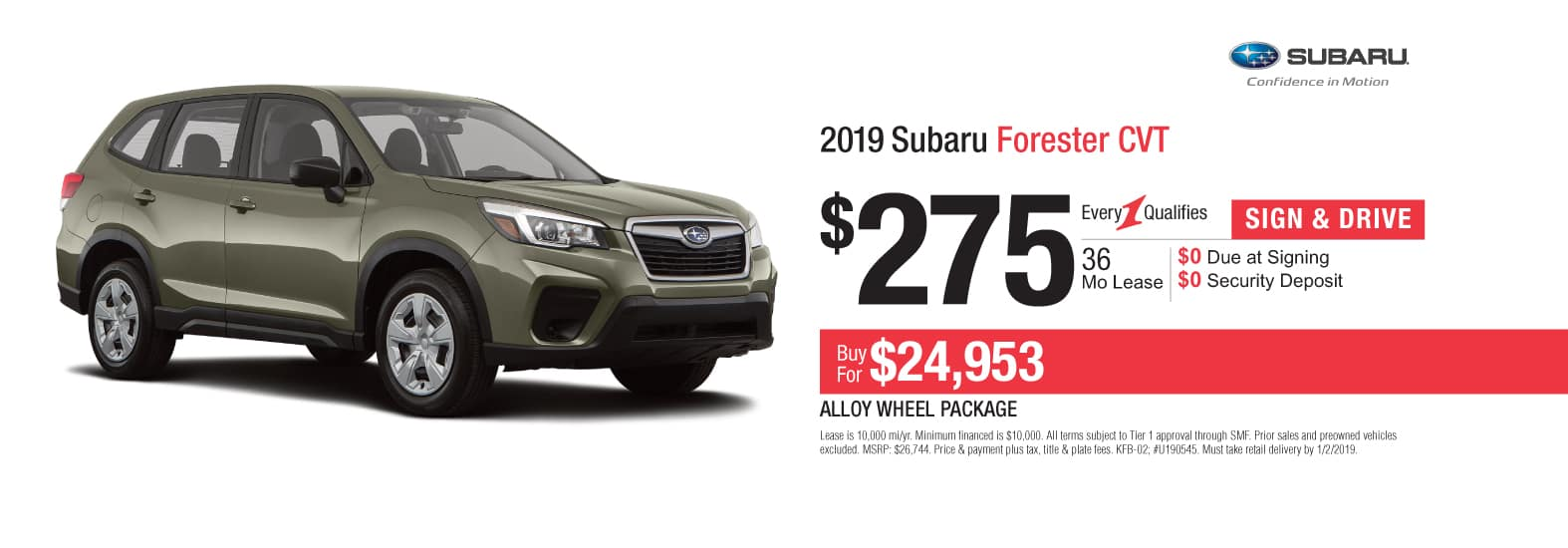 2019 Forester