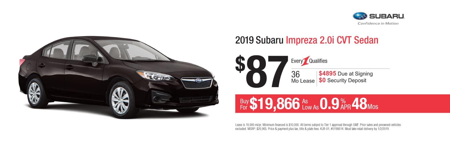 New Car Specials At Cochran Subaru In Allegheny County Near Pittsburgh