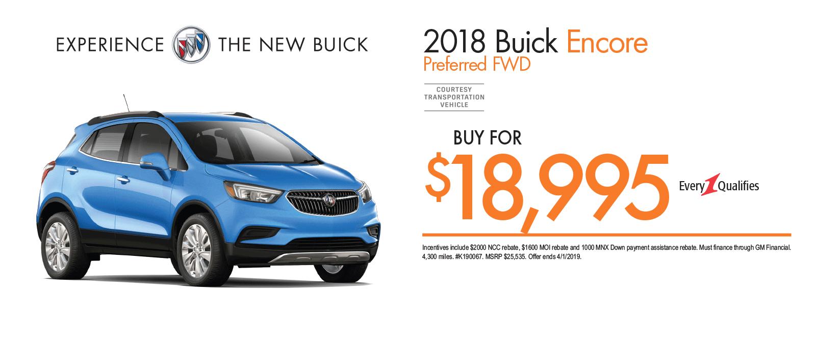 2018 Buick