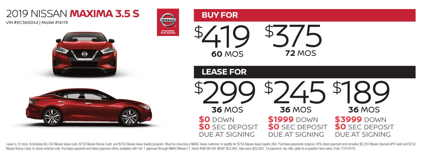 New Nissan Rogue special at Cochran Nissan Cranberry in Zelienople