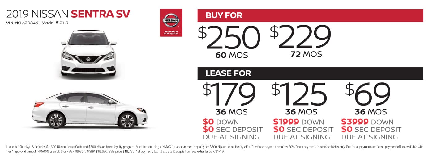 Cheapest Car To Lease With No Money Down >> Nissan Lease Deals Nissan Finance Deals Cochran Nissan Car Leasing