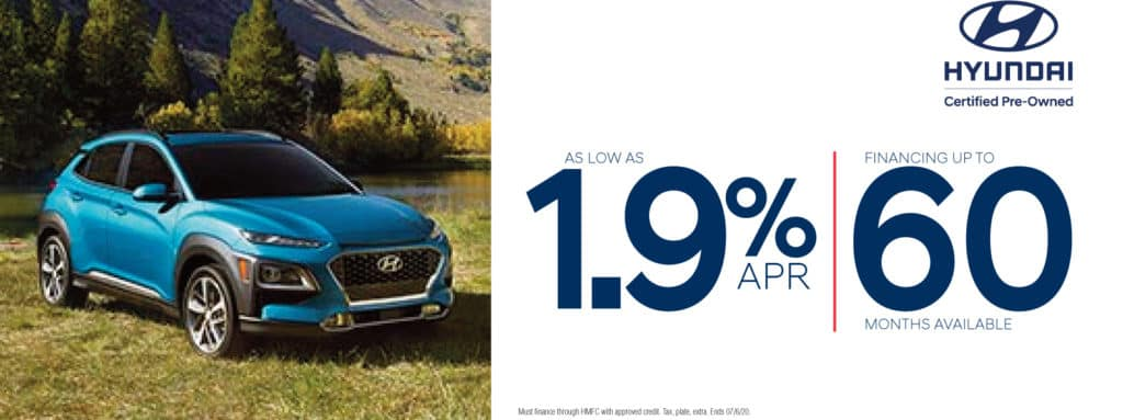 1.9% APR | Financing Up to 60 Months Available