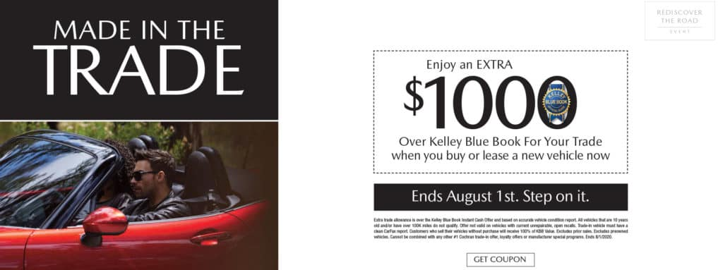 Extra $1000 over Kelley Blue Book