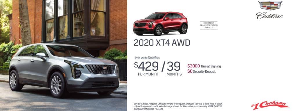 New 2020 Cadillac XT4 Premium Luxury AWD