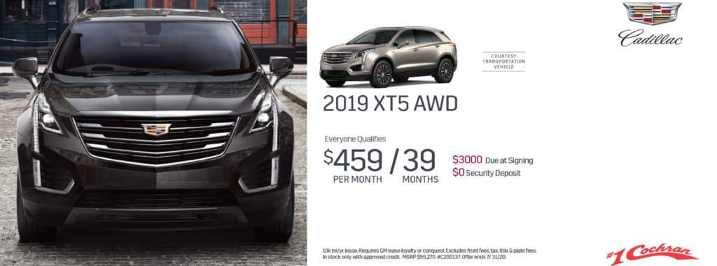 New 2020 Cadillac XT5 Premium Luxury AWD
