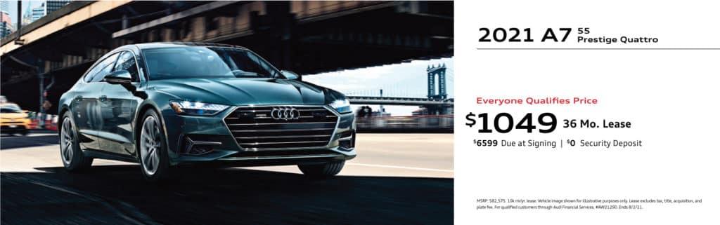New 2021 Audi A7