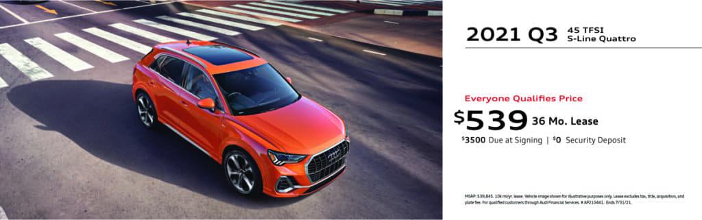 New 2021 Audi Q3