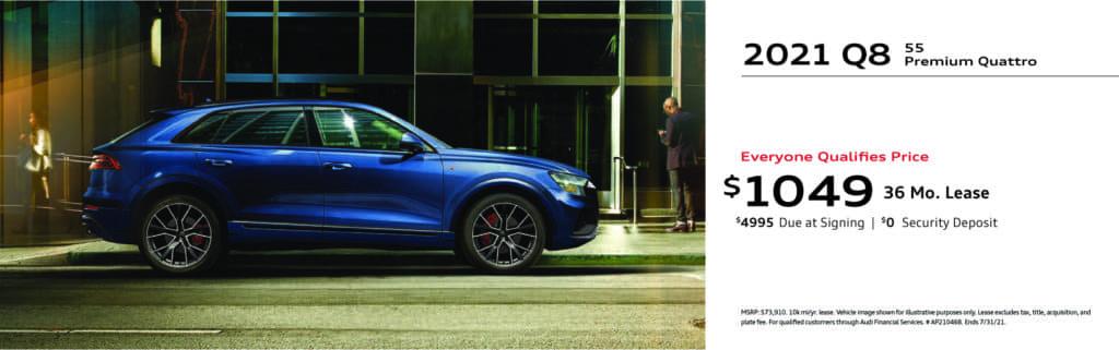 New 2021 Audi Q8