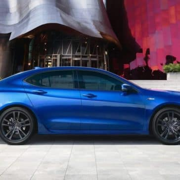 2019 Acura TLX Blue