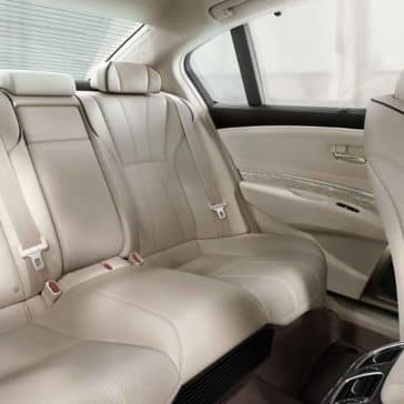 2019 Acura RLX Seating
