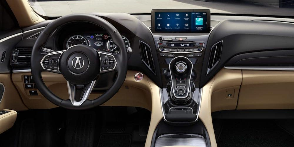 2019 rdx front dash and interior