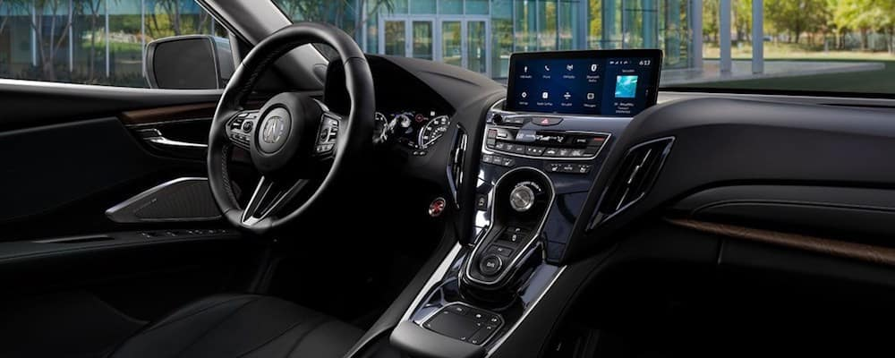 2019 rdx front interior and dash