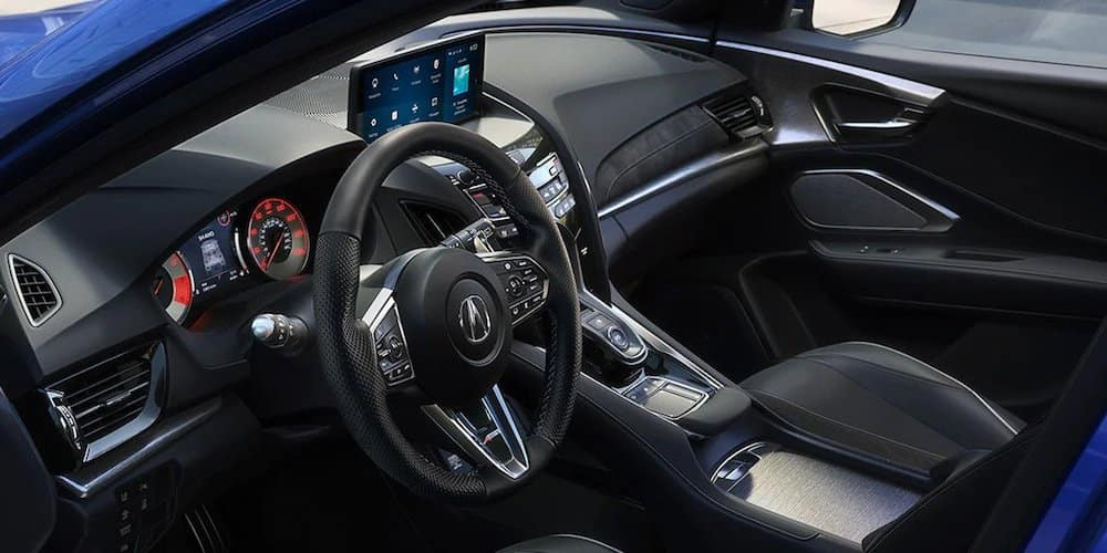 2020 Acura RDX Front Interior and Dash
