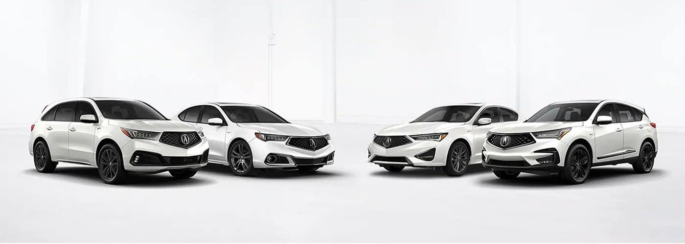 Acura Model Lineup Showcase