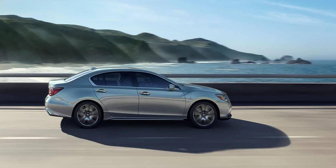 2020 Acura RLX Side View