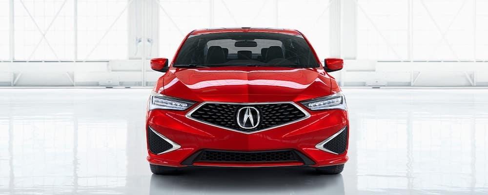 Red 2020 Acura ILX Profile