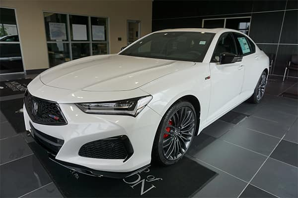 The 2021 Acura TLX Type S is Ready for Test Drive!