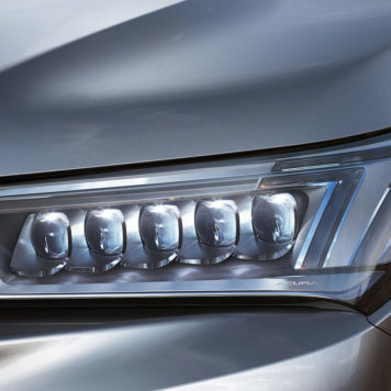 MDX headlight