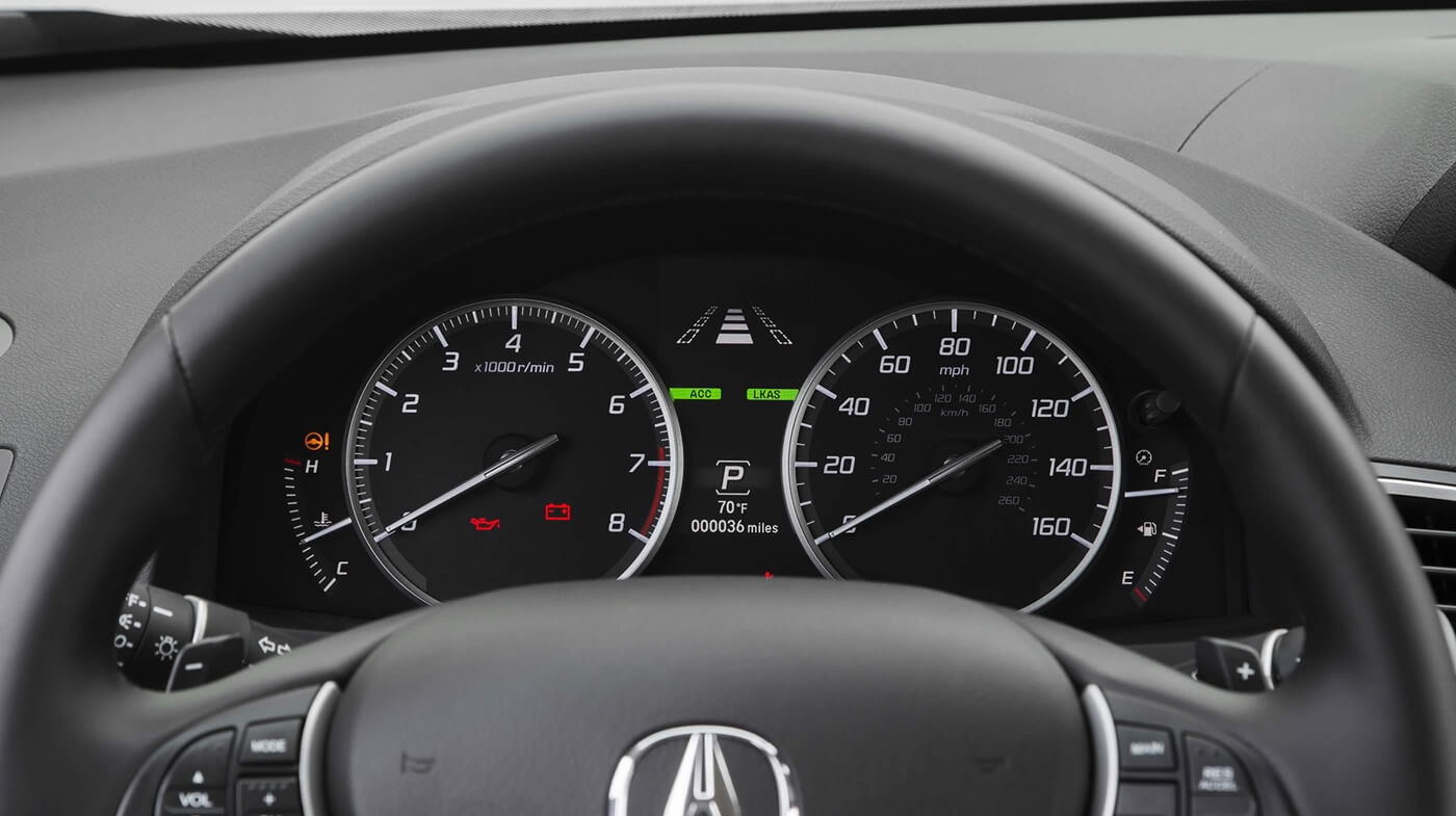 2017 Acura RDX front interior features
