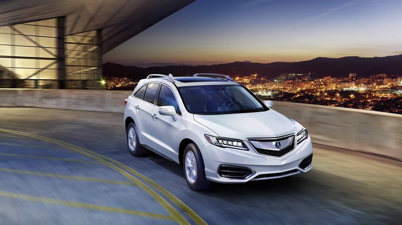 2017 Acura RDX white exterior base model