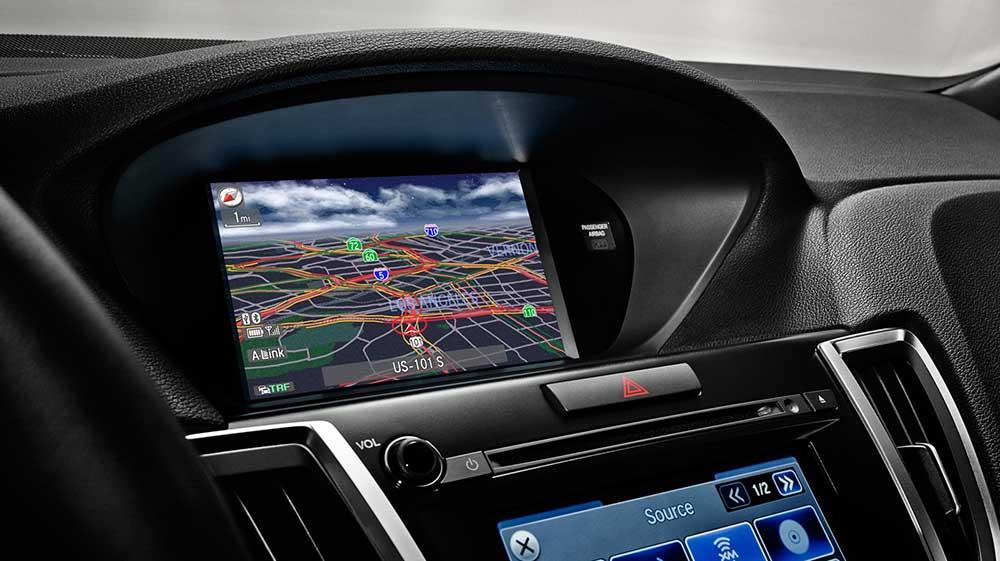TLX Navigation system