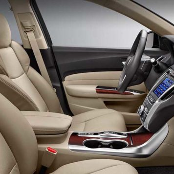 TLX Front seats