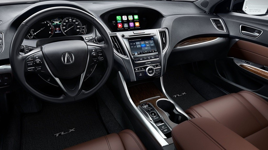 2018 Acura TLX Interior Dashboard