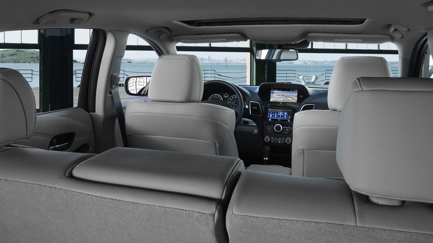 2018 Acura RDX Interior Backseat View