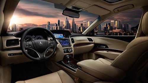 Acura RLX Interior Technology