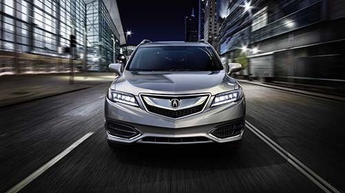 2018 Acura RDX Front End Exterior View