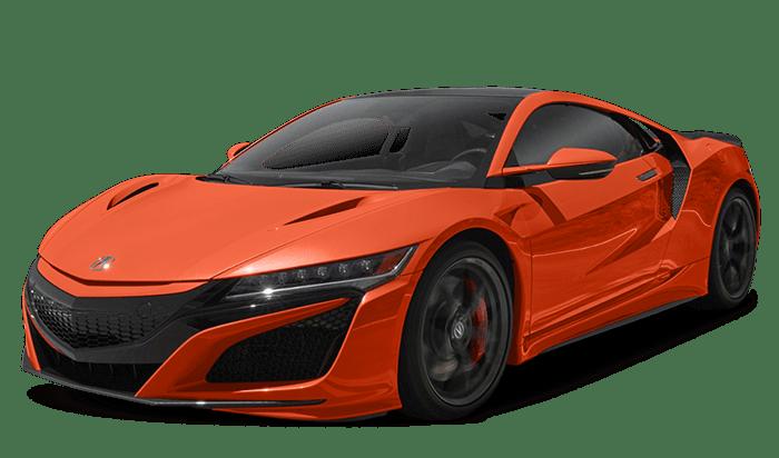 2019 Acura NSX Orange