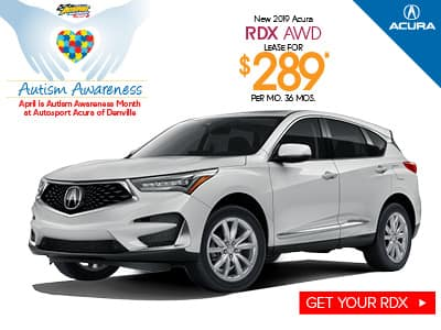2019 Acura RDX Lease Special