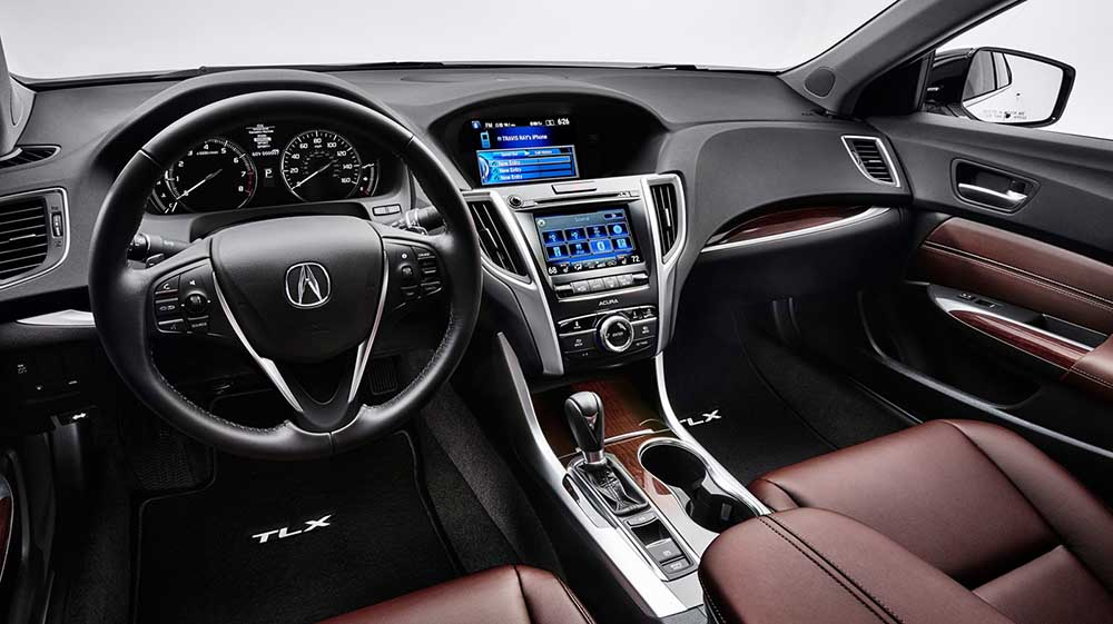 2017 TLX Climate Control