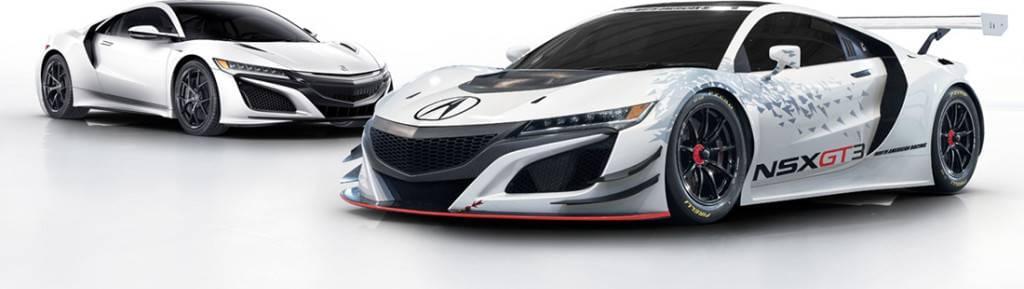 2017 Acura NSX GT3 Pair
