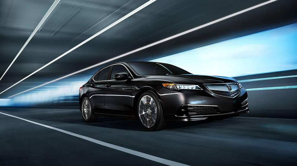 2017 Acura TLX Driving