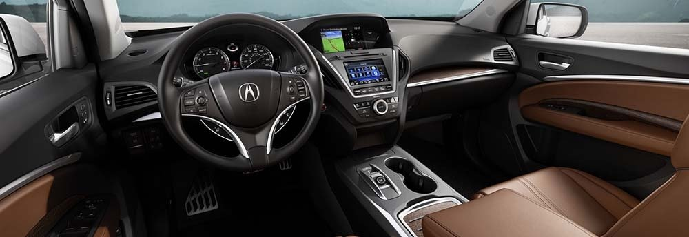 Acura MDX Leather Seating and Navigation