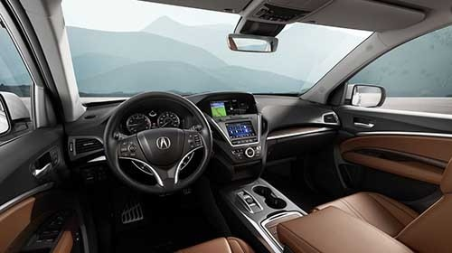 2017 Acura MDX Interior Technology Features
