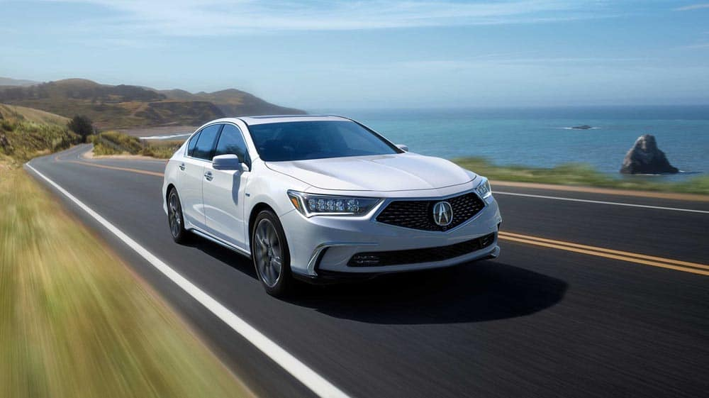 2018 Acura RLX driving