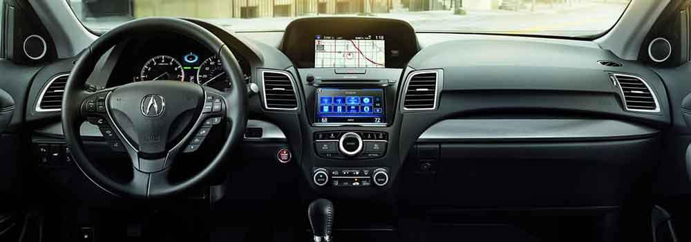 Acura RDX Navigation System