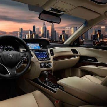 2017 Acura RLX Interior